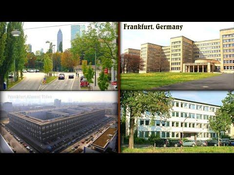 Frankfurt, Germany: PX Area, Kennedy Ksrn., CPO, Abrams Bldg...