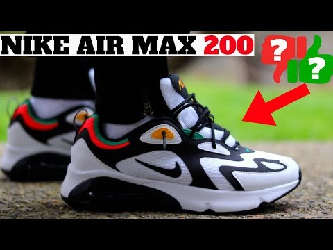 Nike Air Max 200 Review! Worth Buying? Compared to AM 1 270 ...