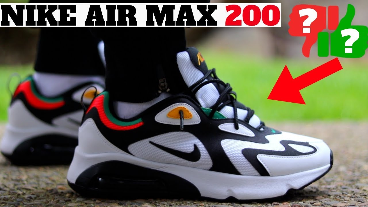 Nike Air Max 200 Review! Worth Buying? Compared to AM 1 270 720 Vapormax