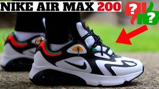 Duplicar docena Panda  Nike Air Max 200 Review! Worth Buying? Compared to AM 1 270 720 Vapormax -  YouTube