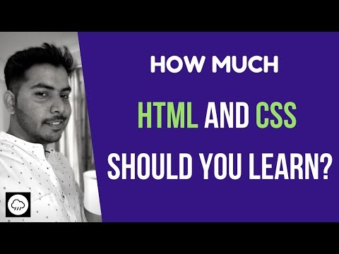 How Much HTML And CSS To Know (As A Full Stack Or Front End Developer)