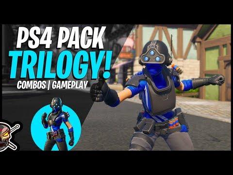 The New TRILOGY PlayStation Celebration Pack! (Fortnite Battle Royale)