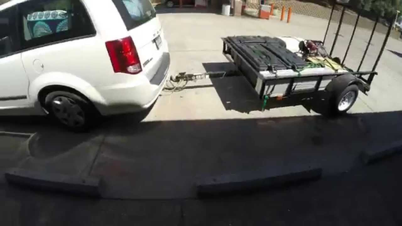 5 X 8 Utility Trailer Vs 2400 Mile Road Trip What Could Go Wrong Dodge Flatbed Wiring Youtube