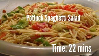 Potluck Spaghetti Salad Recipe