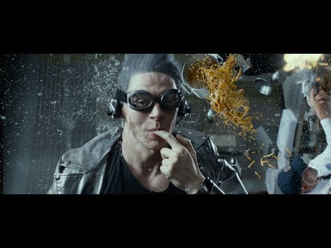Evan Peters' Quicksilver  in  X: Men Days of Future Past The Best  In The Movie by