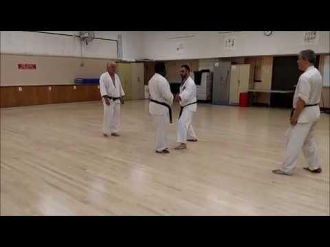 Jiyu Kumite Drill 2