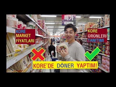 Bir Koreli Olarak Kore'de Tavuk Döner Yaptım!