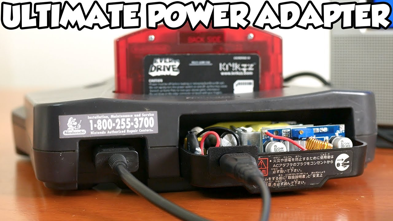 Building the Ultimate Nintendo 64 Power Adapter