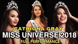 Catriona Gray Full Performance | Miss Universe 2018