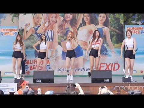 150802 경주캘리포니아비치 02 EXID-Whoz That Girl/직캠 (Fancam) (Horizontal)