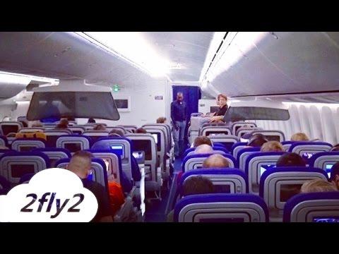 BOEING 747-8 LUFTHANSA FRANKFURT - NEW YORK ECONOMY CLASS HD