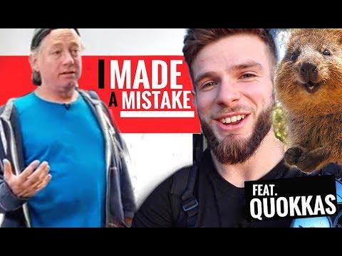 Greg Glassman Regrets Teaching the Kipping Pull-Up? / Quokka Vlog: Rottnest Island