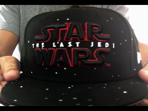 27f4e82652304 The Last Jedi  STAR WARS SNAPBACK  Black Hat by New Era - YouTube