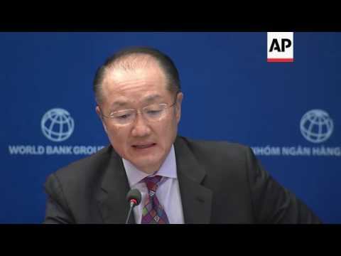 World Bank head: global growth 'disappointing'