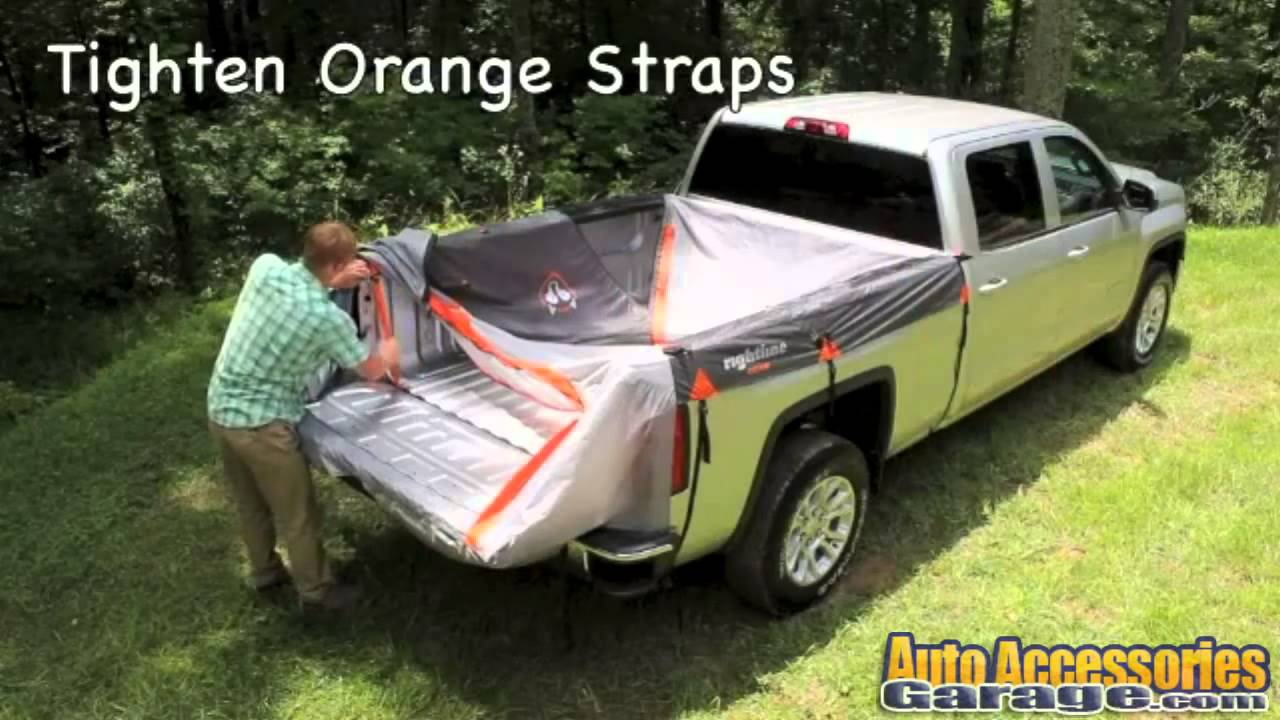 & Rightline Gear Truck Tent - YouTube
