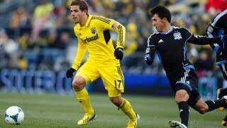 HIGHLIGHTS: Columbus Crew vs San Jose Earthquakes | March 16, 2013