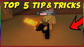 TOP 5 TIPS AND TRICKS ON DUNGEON QUEST ROBLOX!