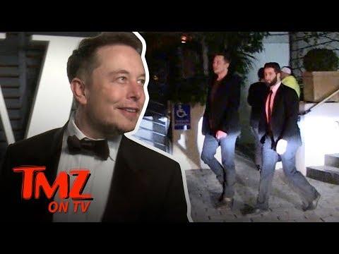 Elon Musk in Space   TMZ TV