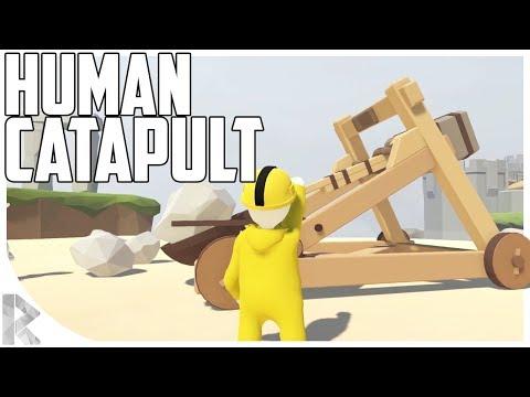 HUMAN CATAPULT! - Human: Fall Flat w/ Starsnipe!