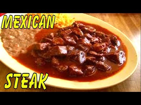 Mexican-Style Sirloin Steak | Mexican Steak: Chile Steak Tacos | Burritos |  Steak Carnitas Tacos