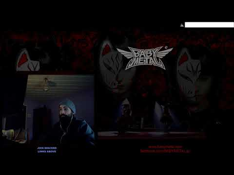 MP Reaction | BABYMETAL   Syncopation( Live Tokyo Dome) Audio Muted