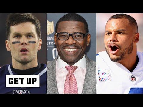 Michael Irvin Clarifies Tom Brady-Dak Prescott Take | Get Up