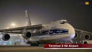 Biggest Cargo Aircraft Ever Spotted at Delhi