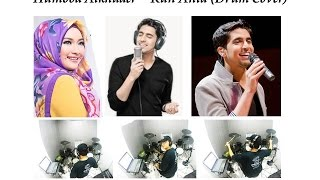 Video ★★★ Kun Anta - Humood Alkhuder vocal by Fida Syakur D'academy (Drum Cover) :: with Lyrics :: download MP3, 3GP, MP4, WEBM, AVI, FLV Agustus 2017