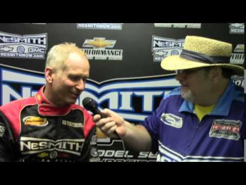 Ronnie Johnson Winner Talladega Short Track 5 2 15