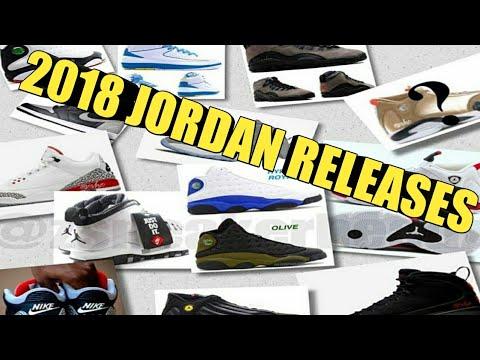 CONFIRMED AND RUMORED 2018 AIR JORDAN RELEASES