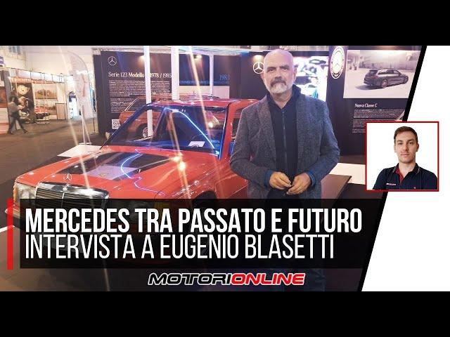 MERCEDES AUTO E MOTO D'EPOCA | Intervista a Eugenio Blasetti, Responsabile Press Relations MB Italia