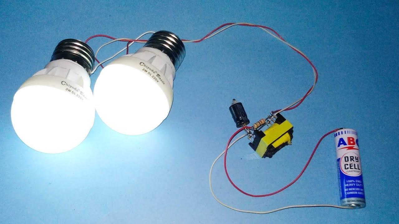 Cara Membuat Lampu Jt Hemat Energi Youtube