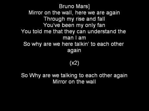Lil wayne ft bruno mars mirror lyrics on screen youtube for Mirror mirror lyrics