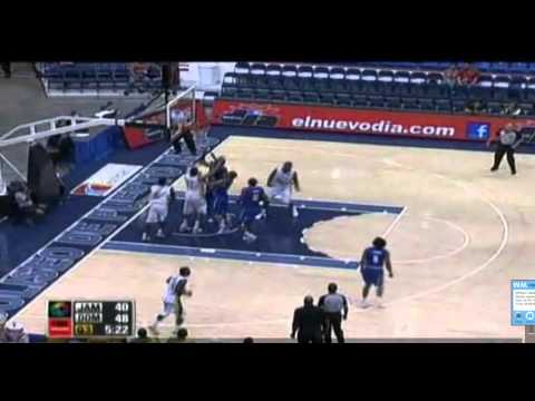 Centro Basket Masculino 2012 - Republica Dominicana 80 vs Jamaica 68 - Highlights