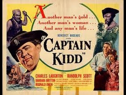Watch Movies Free : Captain Kidd (1945) Charles Laughton, Randolph Scott, Barbara Britton