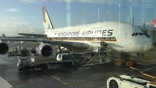 Full Flight Singapore Airlines SQ317 London Heathrow to Singapore A380 part 1
