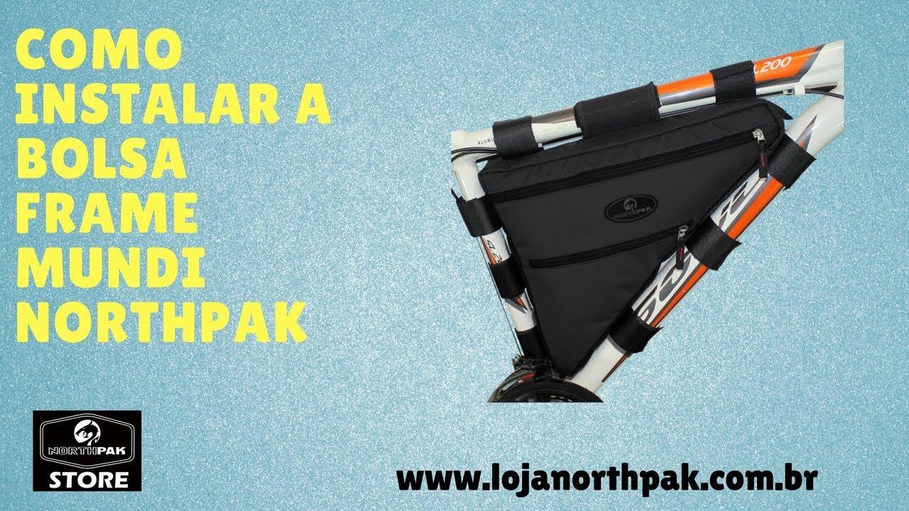 Frame Bag Mundi Bike Packing Northpak a2aa7caf2da