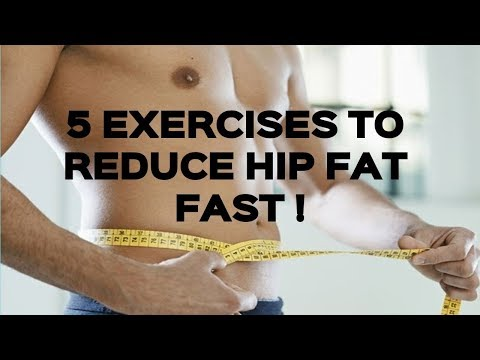 How To Get Rid Of Hip Fat : 5 Best Exercises For Reduce Hip Fat (Men & Women) - Fitness Tips