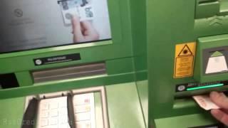 Как положить деньги на карту Сбербанка через банкомат(Инструкция как пополнить карту Сбербанка наличными деньгами в сбербанковском банкомате, который принимае..., 2015-12-25T20:57:39.000Z)