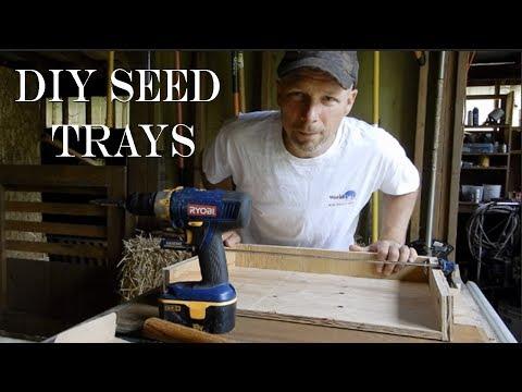 Build Elliot Coleman Soil Blocking Trays (DIY Seed Trays)