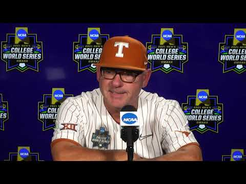 Texas press conference: 2021 CWS (June 22)