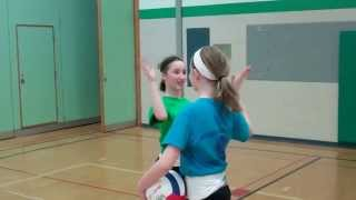 How To Overhand Serve A Volleyball