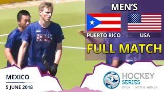 USA v Puerto Rico | Men's Hockey Series Open | FULL MATCH thumbnail