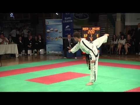 XXVI Mistrzostwa Polski Seniorow Taekwon- do Lubartów cz 1(internet) tv Kanał S 2013