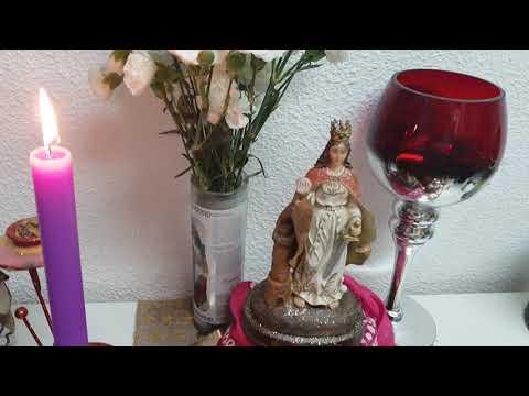 Ritual N.2 A SANTA BARBARA.¿QUE FLORES LE PONES A SANTA BARBARA?MIRELO EN STE VIDEO ..