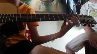 Như khúc tình ca _ cajon & guitar
