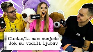 POGAĐAMO NAŠE TAJNE | Lea Stanković & 8rasta9 & Luciano
