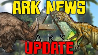 ARK: Survival Evolved - News Update 28 Nov: Woolly Rhino, Ruins, Ice Cave and More!