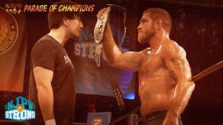 A Parade of Champions SATURDAY 8/7c on STRONG!