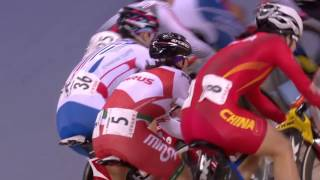 women s omnium elimination race 2016 uci track cycling world championships